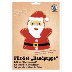 Filz-Set Handpuppe Weihnachtsmann