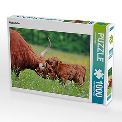 Mutterliebe Lege-Größe 64 x 48 cm Foto-Puzzle Bild von Günther Geiger Puzzle