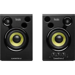 Hercules DJMonitor 42 Aktiver Monitor-Lautsprecher 10cm 4 Zoll 40W 1 Paar