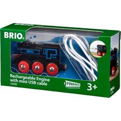 Brio Schwarze Akku-Lok mit Mini-USB 33599