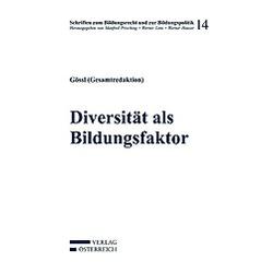 Diversität als Bildungsfaktor - Buch