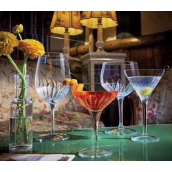 Luigi Bormioli Cocktailglas Mixology, SON.hyx Kristallglas, Cocktailglas Cocktailschale 225ml SON.hyx Kristallglas transparent 6 Stück Ø 9.5 cm x 14 cm