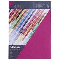artoz Briefpapier Mosaic fuchsia DIN A4 90 g/qm 25 Blatt