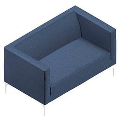 Quadrifoglio Arte Sofa blau