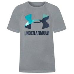 Under Armour Big Logo Solid Dziewczynki T-shirt 1331 678-036 - 128-137