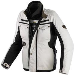 Spidi Worker H2OUT Motorfiets textiel jas Zwart Beige XL