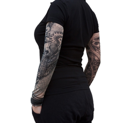 Tattoo Ärmel Strümpfe Armstulpen Motiv - the third eye