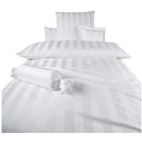 Curt Bauer Como weiß 135 x 200 cm + 40 x 80 cm