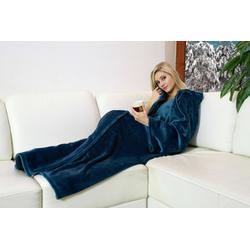 WALSER Decke Snuggle XL, Polyester, 170x200 cm