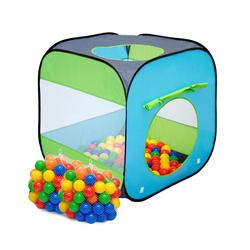 LittleTom Spielzelt Kinderspielzelt Bällebad-Pool Arielle + 200 Bälle Bällebadbälle Bällepool Set