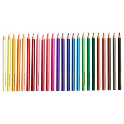 Eberhard Faber Buntstift Colori Dicke Buntstifte, ergonomisch dreiflächig, (72-tlg), 72 Stifte