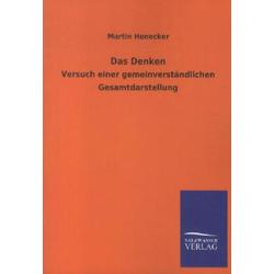 Das Denken als Buch von Martin Honecker