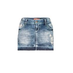 Cipo & Baxx Sommerrock mit Taschenstickerei 28
