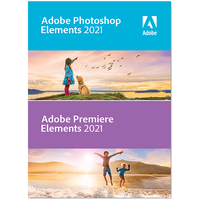 ADOBE SYSTEMS SOFTWARE IRELAND Photoshop Elements 2021 & Premiere (Code in der Box) - [PC]