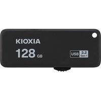 Kioxia TransMemory U365 USB-Stick 128 GB USB Typ-A 3.2 Gen 1 (3.1 Gen 1) 150 MB/s Dia, Schwarz