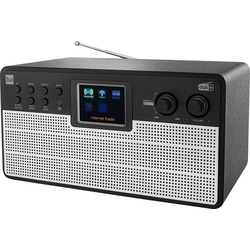 Dual IR 100 Internet-Radio (Digitalradio (DAB), UKW mit RDS, Internetradio, 10 W)