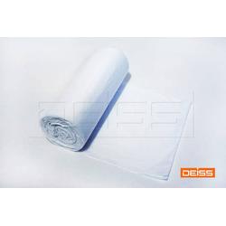 DEISS Zugbandsack HDPE STANDARD 30l weiß 15my (1 Rolle = 25 Stück)