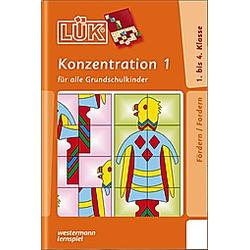LÜK: Konzentration - Buch