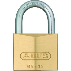 ABUS - 65/35 35mm Messing Vorhängeschloss Gleichschließend 6354 - ABUKA11983