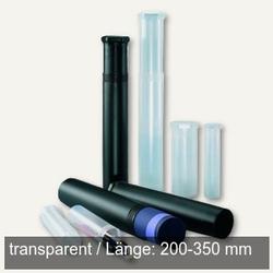 Versandrolle Drehpack Ø 40 mm, Länge 200-350 mm verstellbar, PP, transparent