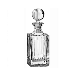 Newport Karaffe Southfork; Dekanter / Whiskykaraffe aus Kristallglas
