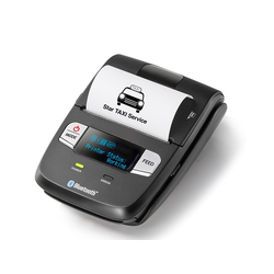 SM-L200 - Mobiler Thermodirekt Bondrucker, Bluetooth, USB, schwarz