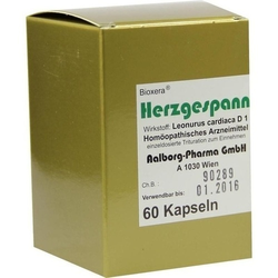 HERZGESPANN Bioxera Kapseln 60 St