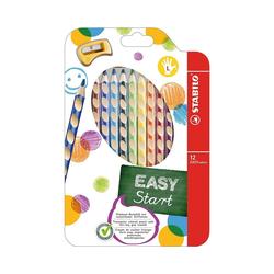 STABILO Buntstift Buntstifte EASYcolors Linkshänder, 12 Farben,
