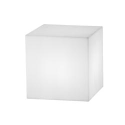 Kiom Dekolicht LED Leuchtwürfel Würfelleuchte Dado solar 30x30 cm