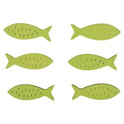 Rayher Holz-Streudeko Fische 6 St.