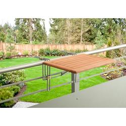 MERXX Balkonhängetisch Holz, für den Balkon geeignet
