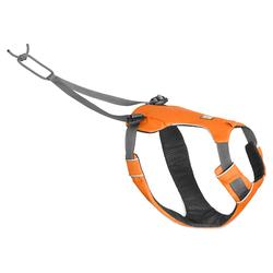 Ruffwear Zuggeschirr Omnijore™ Dog Harness Orange Poppy, Größe: S