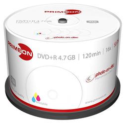 DVD+R 4.7 GB, 16x, bedruckbar, 50er-Box
