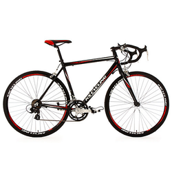 28 Rennrad 14 Gänge Euphoria schwarz Rennräder