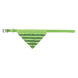 TRIXIE Hunde-Halsband Tuch, Nylon gr�n 1 cm x 24 cm