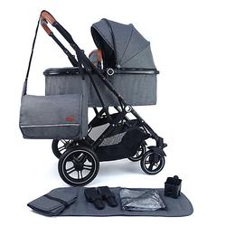 Kinderwagen Lania Babywagen grau Gr. bis 15 kg