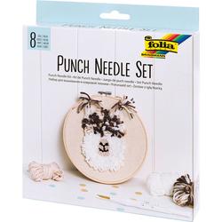 Punch Set Alpaka, braun - braun