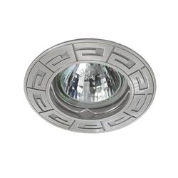 Einbaustrahler RODOS, rund, Alu/Druckguss, 85mm, Chrom
