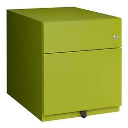 BISLEY Note Rollcontainer grün 2 Auszüge