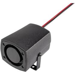 Piezo-Signalgeber Geräusch-Entwicklung: 100 dB Spannung: 12V Sirenenton 1St.