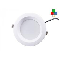 LED Einbaustrahler rund 14,5cm 18W 630lm RGBW dualweiß 24V DC Einbaustrahler EEK: A
