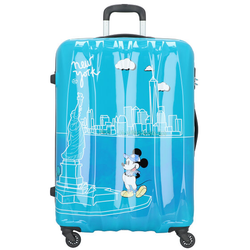 American Tourister Disney Legends 4-Rollen Trolley 75 cm take me away mickey nyc