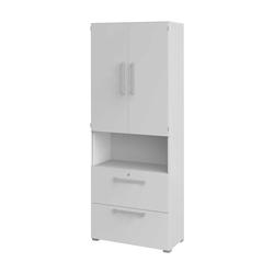 Büroschrank in Weiß 80 cm breit