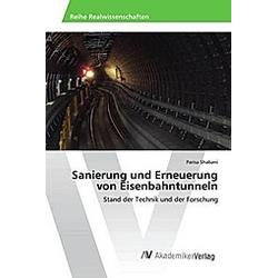 Sanierung und Erneuerung von Eisenbahntunneln. Parisa Shabani  - Buch
