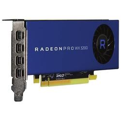 AMD Radeon Pro WX 3200  4 GB  Mid Range Grafikkarte (Grafikkarte)
