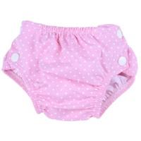 Popolini Schwimmwindel Dots pink L 8-15 kg