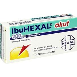 Hexal IBUHEXAL akut 200 Filmtabletten 10 St