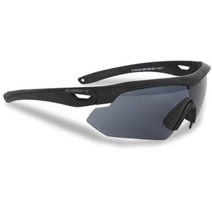 Swiss Eye Tactical Brille Nighthawk m. Wechselgläsern schwarz