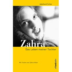 Zahra als Buch von Adelheid Schär