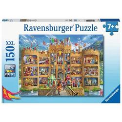 Ravensburger 12919 Puzzle Blick in die Ritterburg 150 Teile 12919